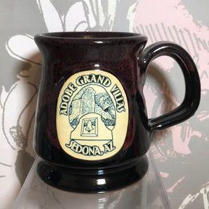 Deneen Pottery Co Adobe Grand Villas Sedona AZ Mug